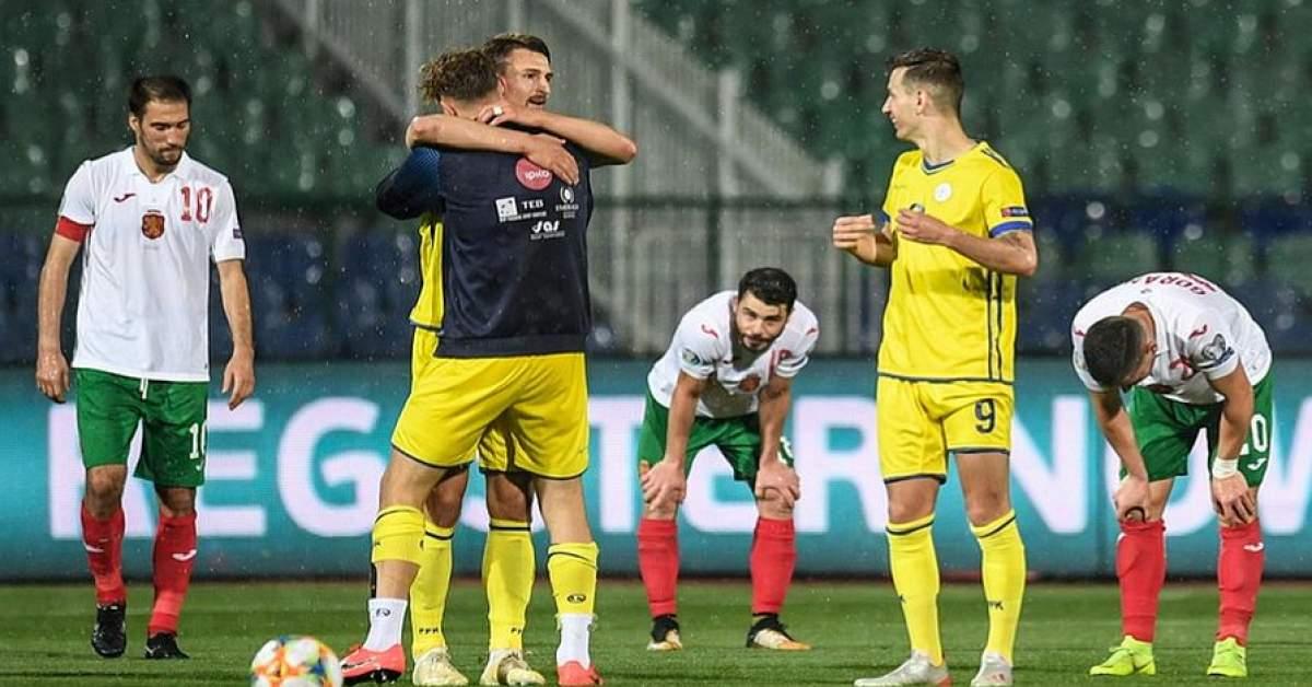 2339f9ecc37 Националният отбор на България претърпя второ поредно поражение в  квалификациите за Европейското първенство по футбол през 2020 година.